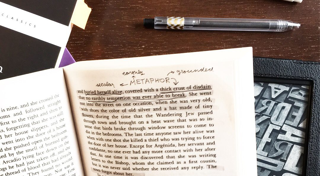 "HOW I READ: Annotating Books and eBooks, Keeping a Literature ""Journal"",  & Reading for School"