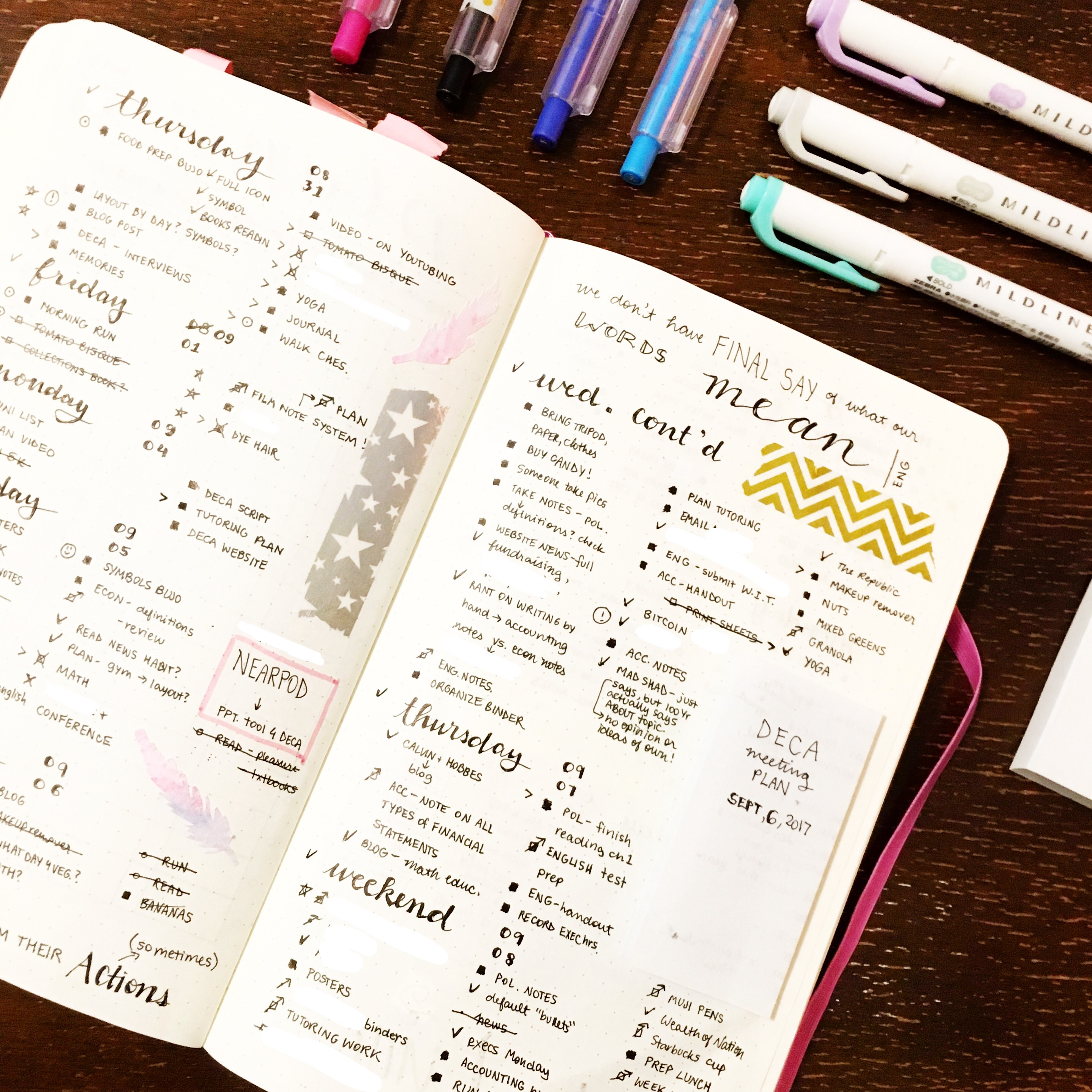 How to Start a Bullet Journal: Setting up for 2017