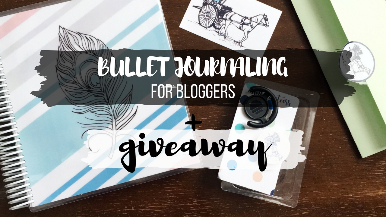 Bullet Journaling for Bloggers + International Notebook Giveaway [OPEN]