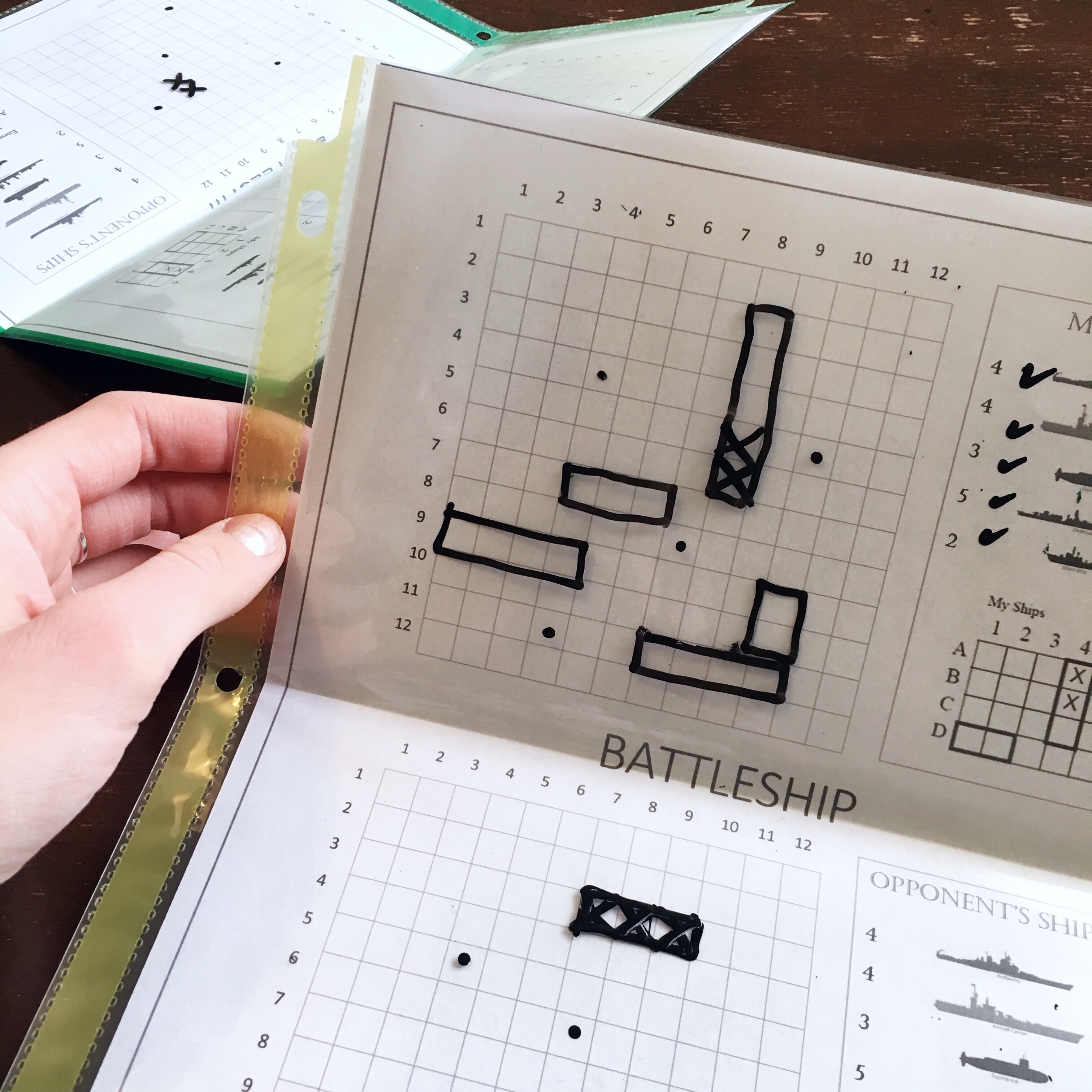 photo regarding Printable Battleship titled business enterprise Printable Battleship Math video game for discovering